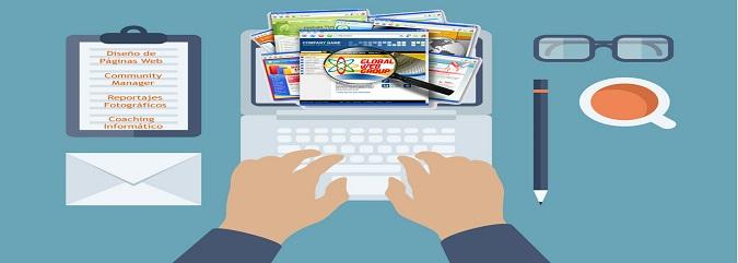 creación de sitio web